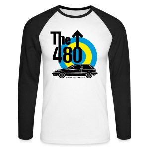T-shirt baseball manches longues homme - The 480 - T-shirt baseball manches longues Homme