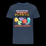 T-Shirts ~ Men's Premium T-Shirt ~ Multicoloured Bits of Plastic - Choose Colour