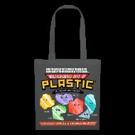 Bags & Backpacks ~ Tote Bag ~ Multicoloured Bits of Plastic Bag - Choose Colour