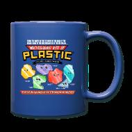 Mugs & Drinkware ~ Full Colour Mug ~ Multicoloured Bits of Plastic Mug - Choose Colour