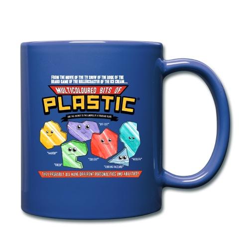 Multicoloured Bits of Plastic Mug - Choose Colour - Full Colour Mug