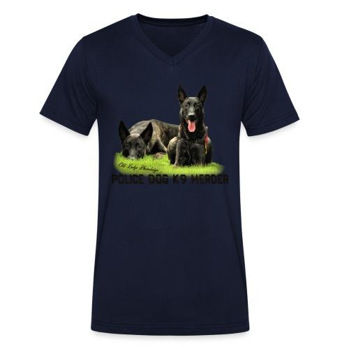 Old Ladys Photodesign - Männer Bio-T-Shirt mit V-Ausschnitt von Stanley & Stella