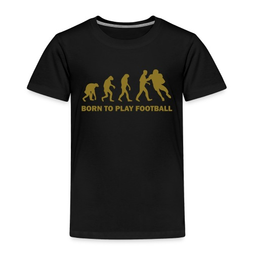 Rangers Born to Play Football - Kinder Premium T-Shirt