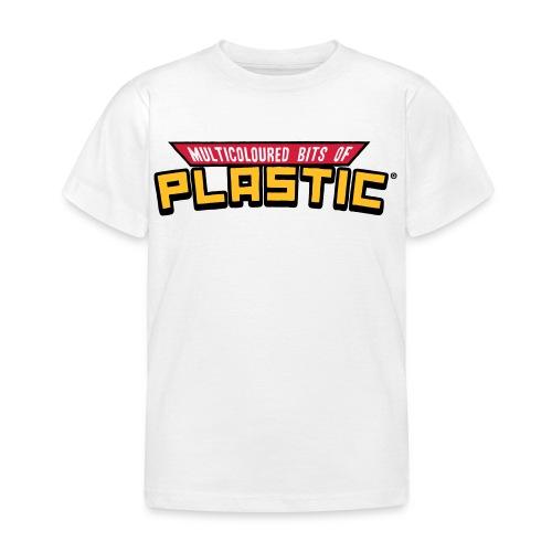 Kids - Multicoloured Vinyl Logo Print - Kids' T-Shirt