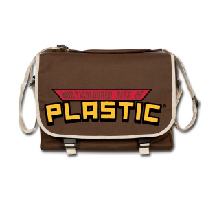 Multicoloured Vinyl Logo Shoulder Bag - Shoulder Bag