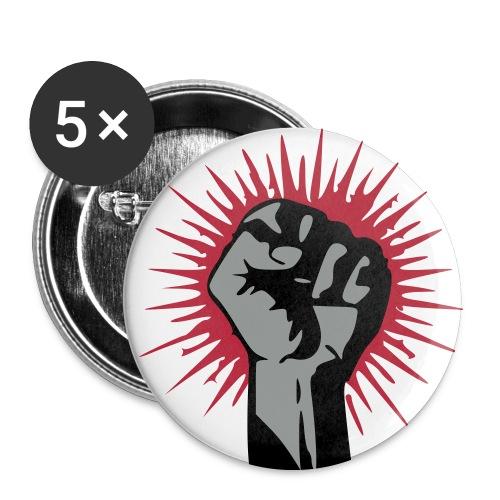 Faust 1 utton 5er Pack - Buttons mittel 32 mm (5er Pack)