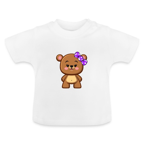 Brown Bear Girl - Baby T-Shirt