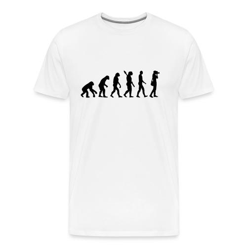 evolutie - Mannen Premium T-shirt