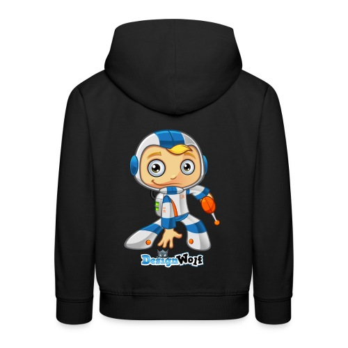Space Boy - LR11 - Kids' Premium Hoodie