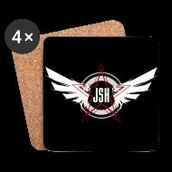 Mugs & Drinkware ~ Coasters (set of 4) ~ JSH Coasters Logo #10-w