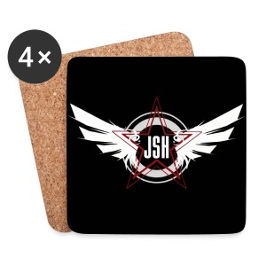 JSH Coasters Logo #10-w - Coasters (set of 4)