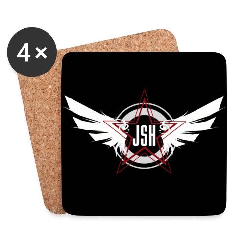 JSH Coasters Logo #10-w - Coasters (set of 4)