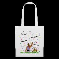 Bags & Backpacks ~ Tote Bag ~ Mr. Demotivator Bag (Choose Colour)