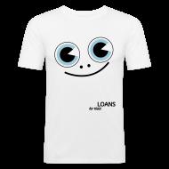 T-Shirts ~ Men's Slim Fit T-Shirt ~ Pocket Money Loans Slim T-shirt