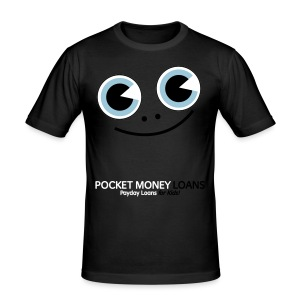 Pocket Money Loans Slim T-shirt - Men's Slim Fit T-Shirt