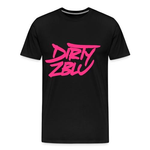Dirty Zblu black/pink - Men's Premium T-Shirt