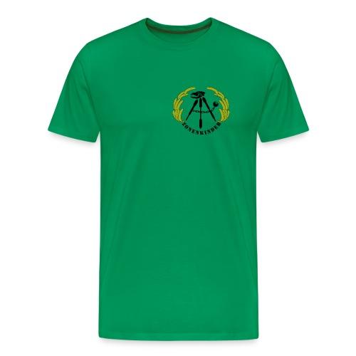 Logo Shirt Männer, grün - Männer Premium T-Shirt