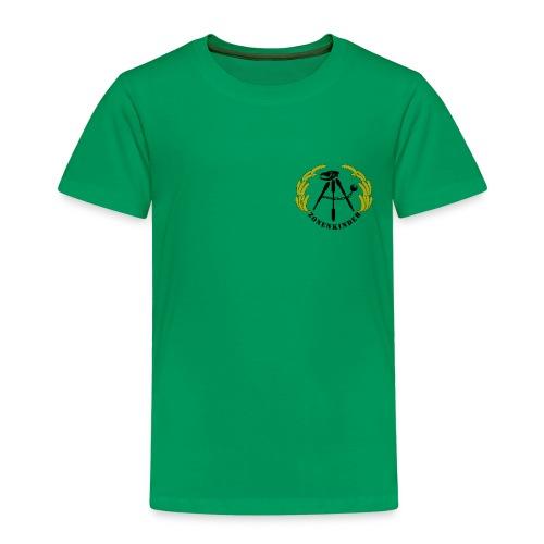 Logo Shirt Kinder, grün - Kinder Premium T-Shirt