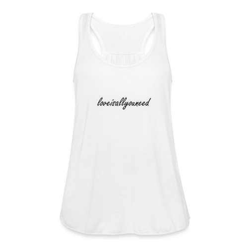 loveisallyouneed Top - Frauen Tank Top von Bella