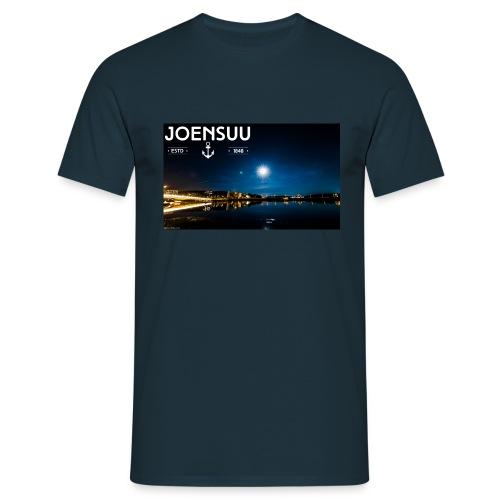 Ylisoutajan silta ja kuu, Joensuu - Miesten t-paita