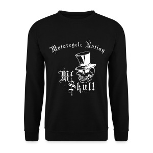Biker Sweat-Shirt | Mc Skull | Motorcycle Nation - Männer Pullover