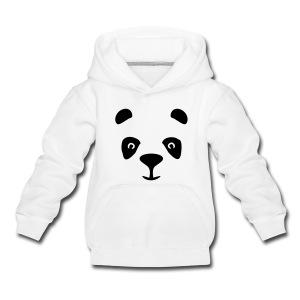 Panda-huppari, lasten - Lasten premium huppari