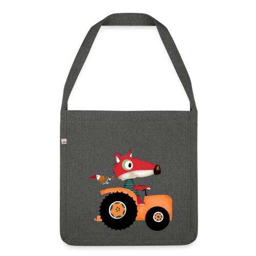 Traktortasche - Schultertasche aus Recycling-Material