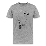 Tee shirts ~ T-shirt Premium Homme ~ Non aux reseaux sociaux