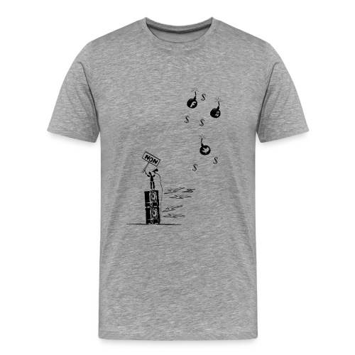 Non aux reseaux sociaux - Men's Premium T-Shirt