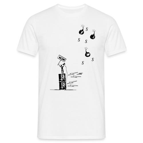 Non aux reseaux sociaux - Men's T-Shirt