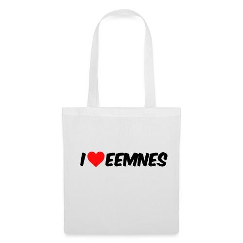 Stoffen tas I Love Eemnes - Tas van stof