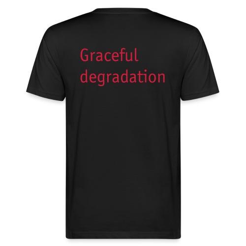 Graceful degradation - Männer Bio-T-Shirt