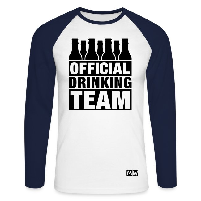 Official Drinking Team | Long Sleeve T-Shirt