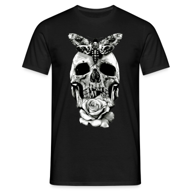 Skull Tattoo Design T Shirts T Shirt Spreadshirt