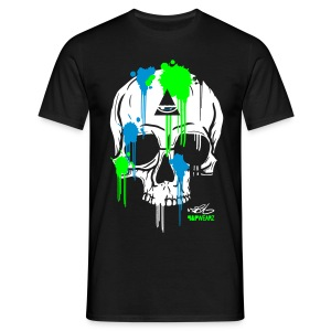 N-Y Skull For Him - T-shirt Homme