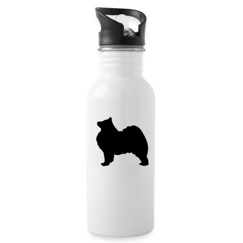 Samoyed black Water Bottle - Water Bottle