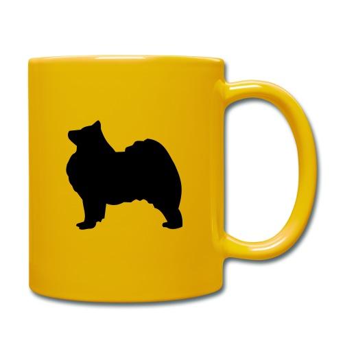 Samoyed black Full Colour Mug - Full Colour Mug