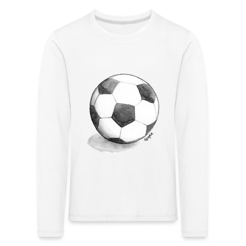 FOTBOLL - Långärmad premium-T-shirt barn