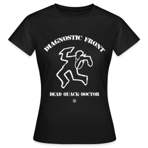 Diagnostic Front Men - T-shirt Femme