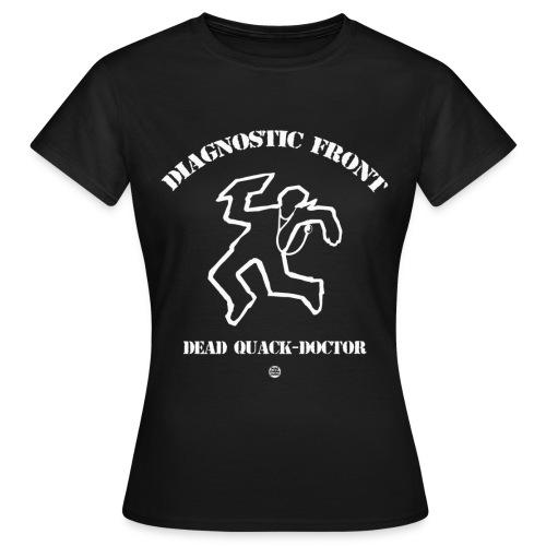 Diagnostic Front Men - T-shirt Femme