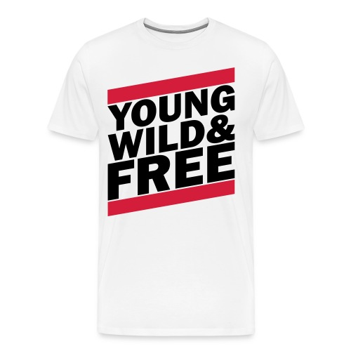 Young Wild & Free - T-shirt Premium Homme