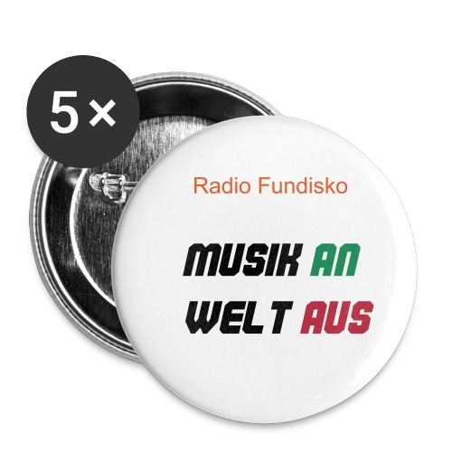 Radio Fundisko Button - Buttons klein 25 mm