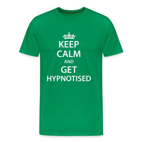 Keep Calm Get Hypnotised Premium Tee - Men's Premium T-Shirt