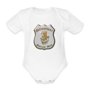 Baby Strampler   Streetwar Special Unit - Baby Bio-Kurzarm-Body