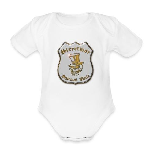 Baby Strampler | Streetwar Special Unit - Baby Bio-Kurzarm-Body