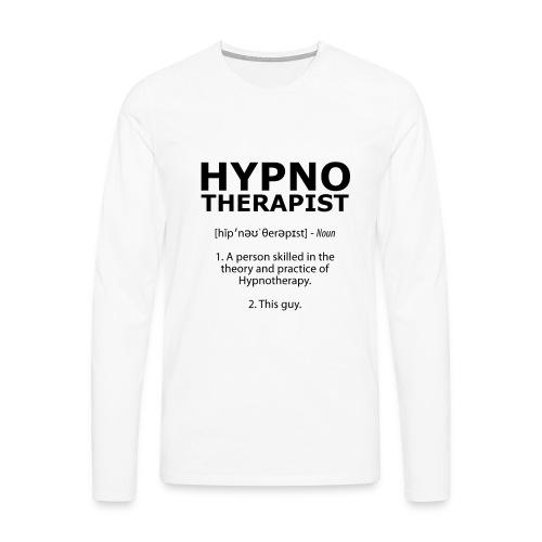 Hypnotherapist Long Sleeve - Men's Premium Longsleeve Shirt