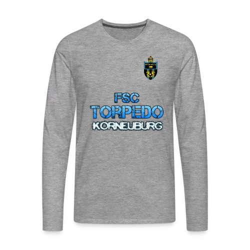 Torpedo+Wappen LangarmShirt - Männer Premium Langarmshirt