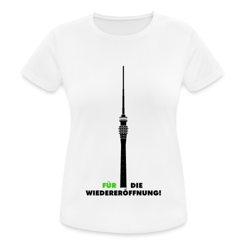 Fernsehturm DD - Frauen T-Shirt atmungsaktiv
