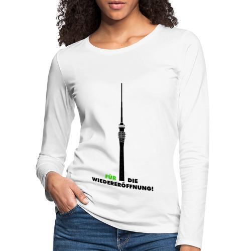 Fernsehturm DD - Frauen Premium Langarmshirt
