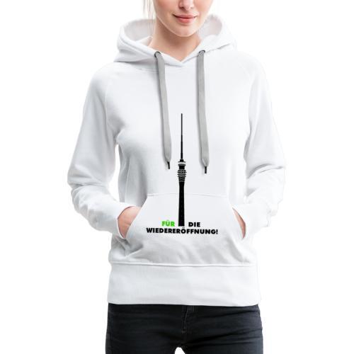Fernsehturm DD - Frauen Premium Hoodie